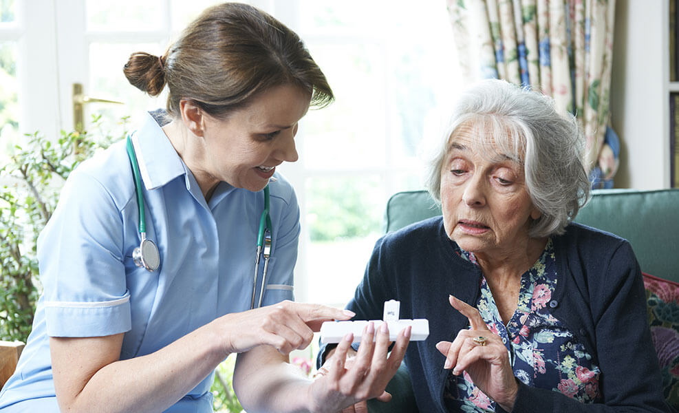 Medication training online course for the care sector