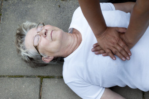 CPR training for care home staff