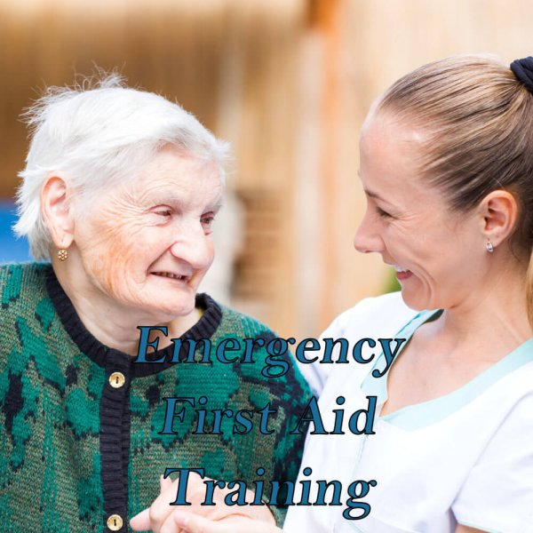 Emergency first aid training for care homes